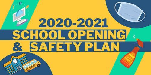 Comprehensive Health & Safety Re-Opening Plan -Fall 2020 Featured Photo