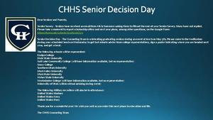 Senior Decision Day