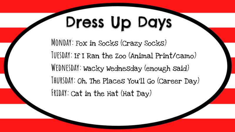 Dress Up Days Graphic