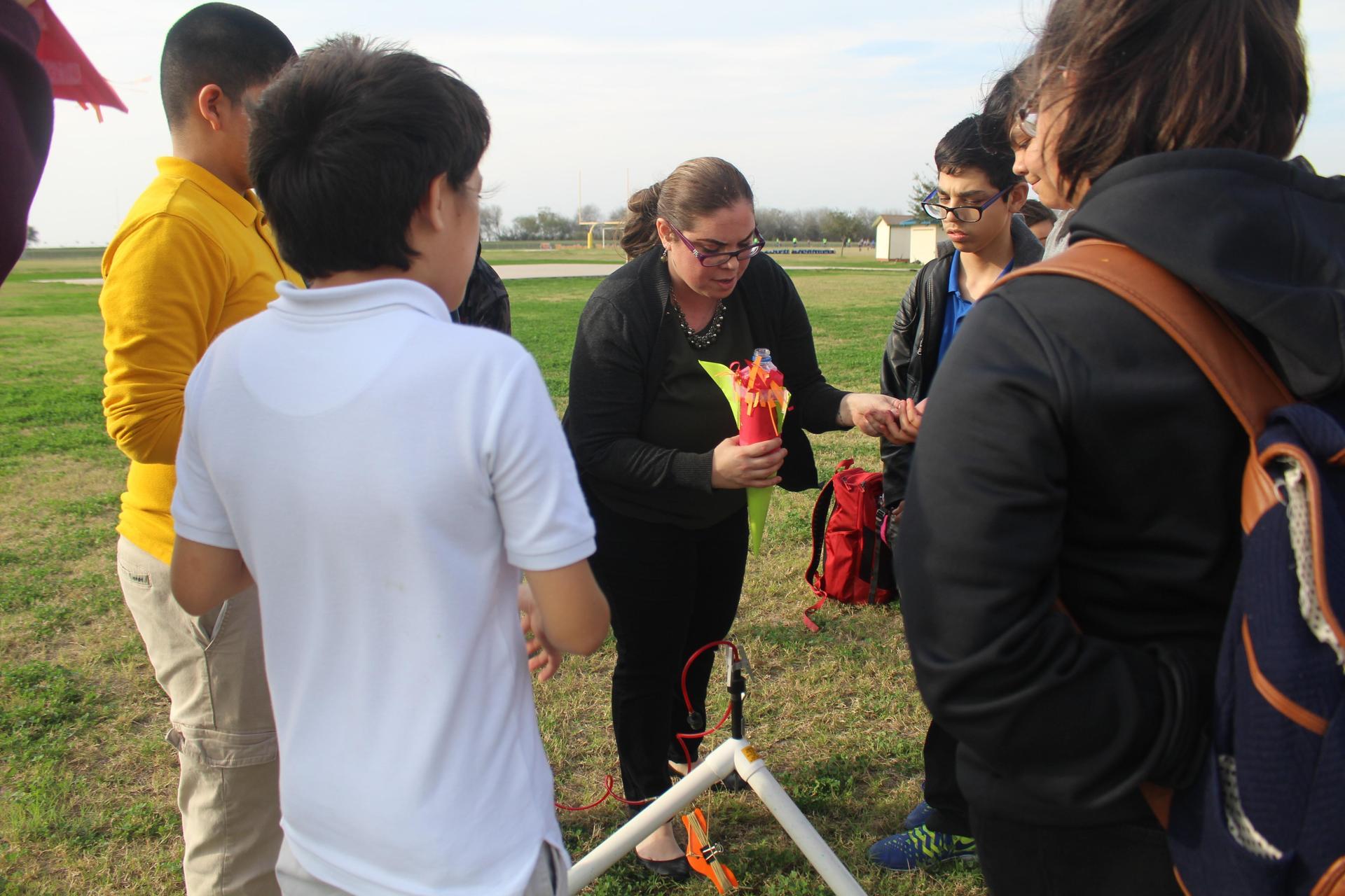 Rocket Launch Demonstration