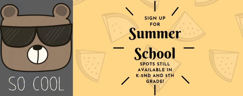 Summer School Spots Still Available! / Todavia hay lugar para su hijo(a) para escuela de verano! Thumbnail Image