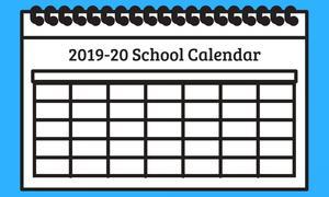 2019-2020 calendar icon