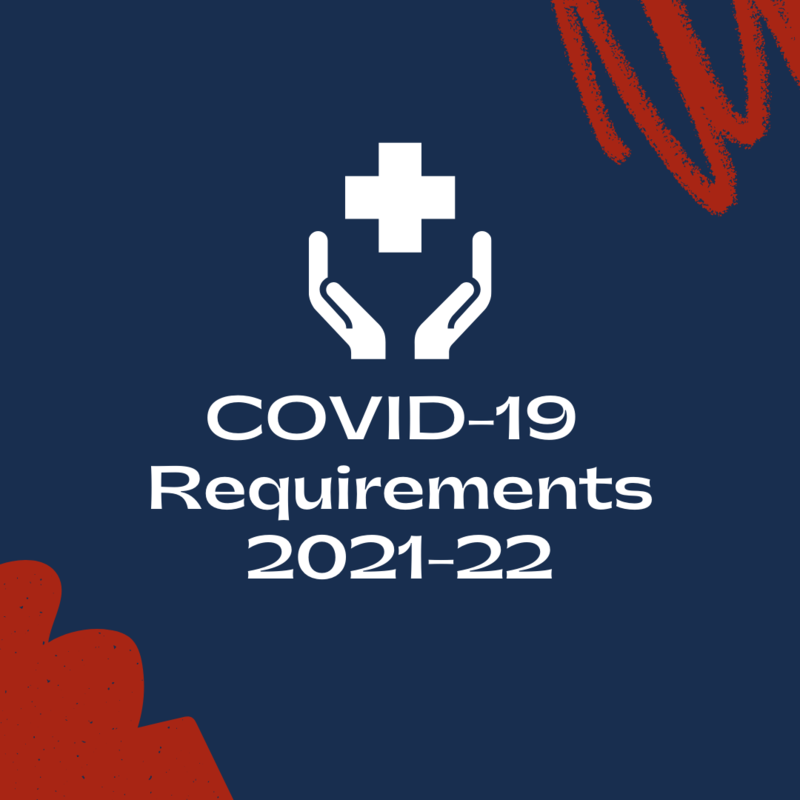 COVID requirements graphic