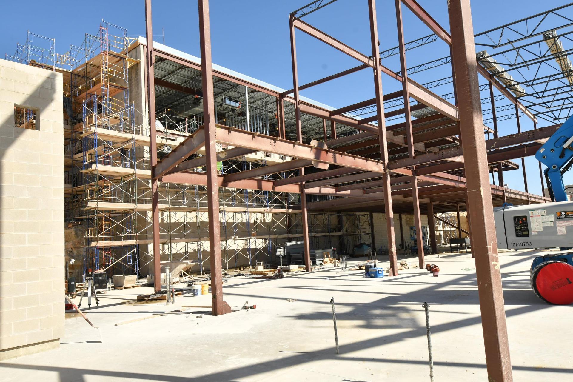 high school 5 construction