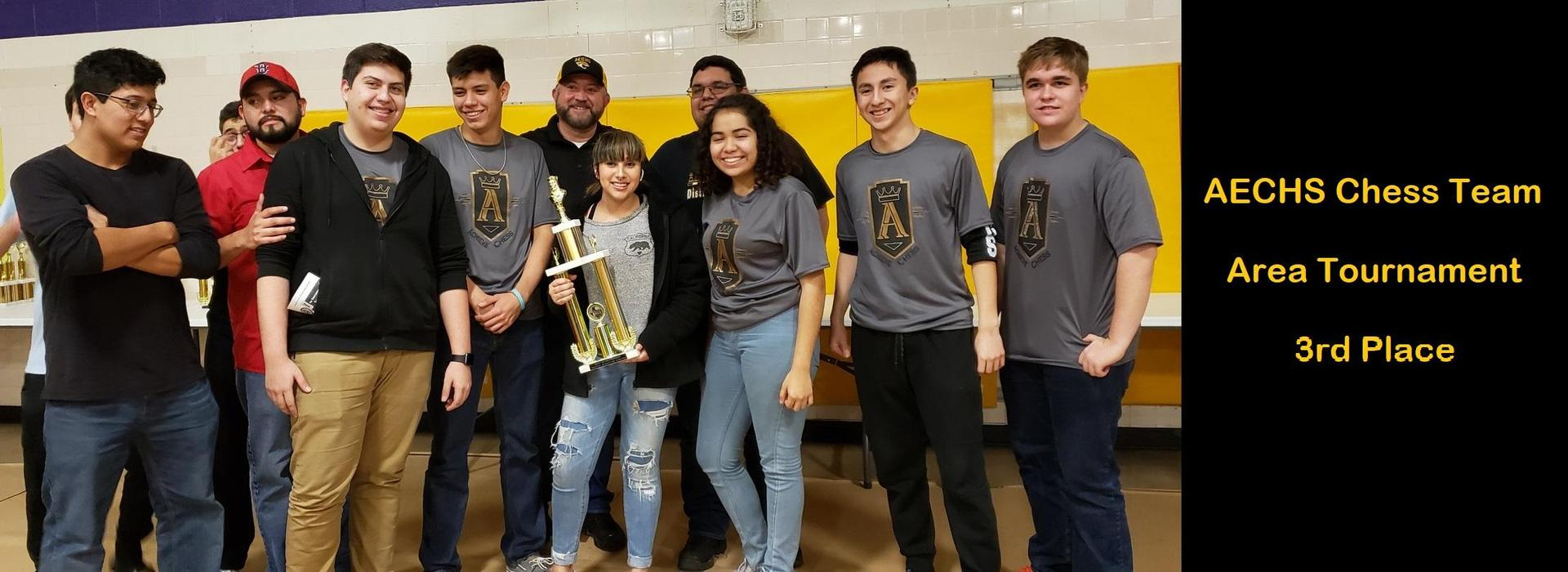 AECHS Chess Team at Area Tournament