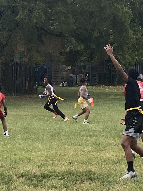 Flag Football Team Heads to the Playoffs on Friday! Thumbnail Image