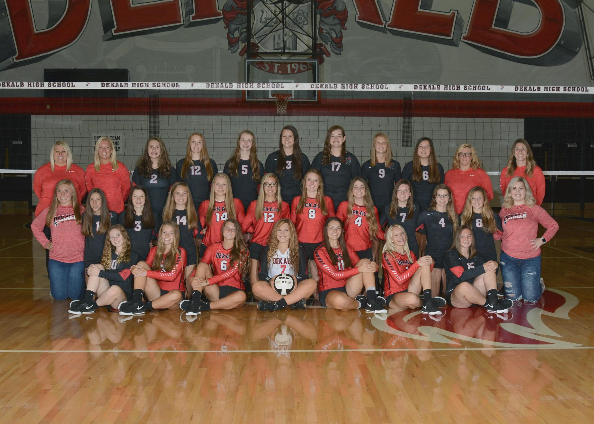 DEKALB LADY BARON VOLLEYBALL 2019