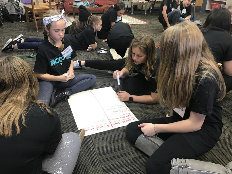 Middle School Students Participate in Leadership Training Thumbnail Image