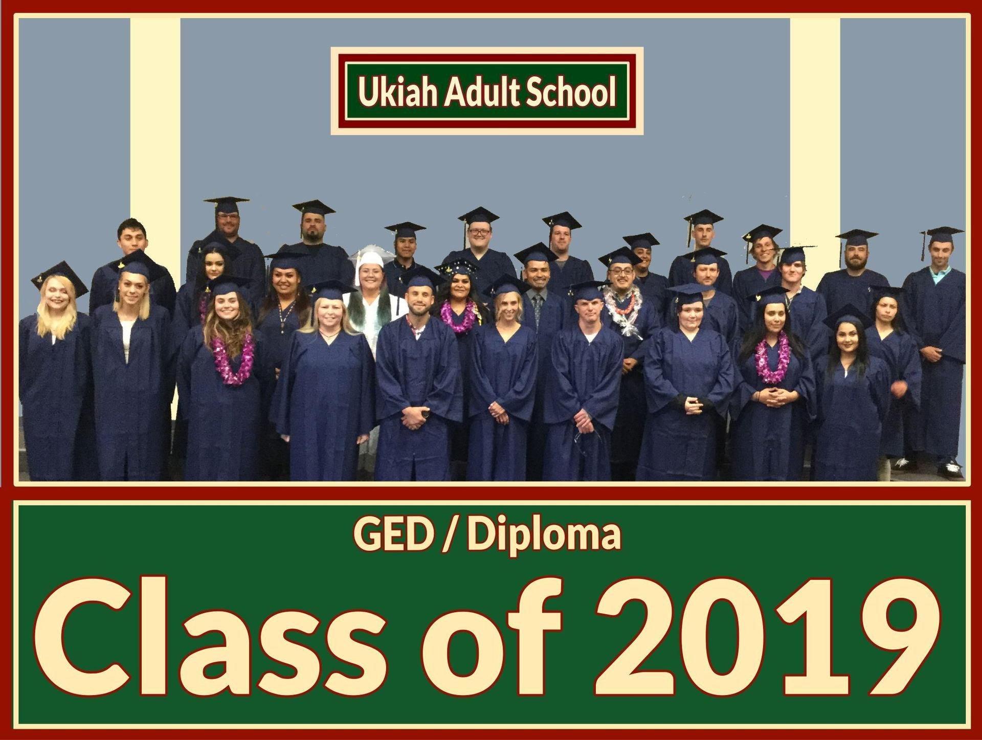 Image of the graduating class of 2019