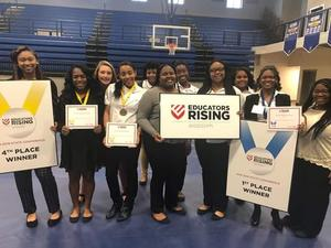 S.C. educators rising state leadership conference
