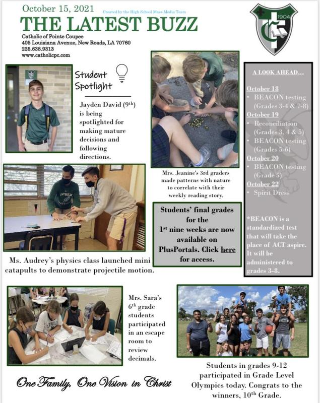 Week 10 Newsletter Featured Photo