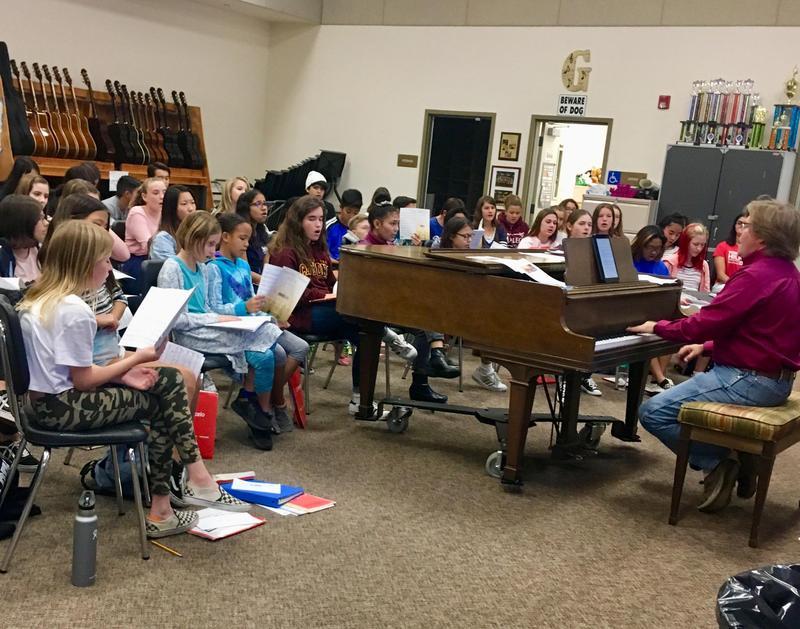 Mr. Gilbert's advanced chorus students sound amazing!