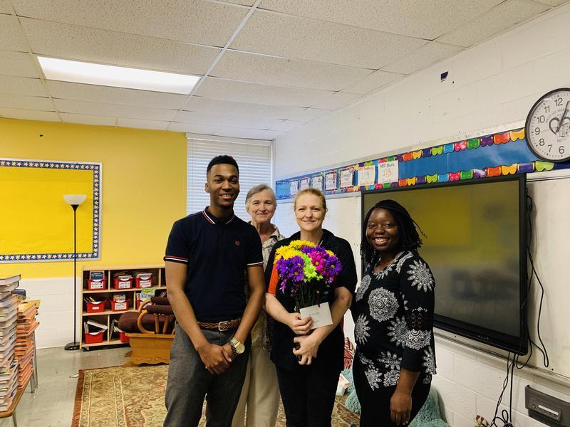 Sandra Frazier, 2020-2021 Teacher of the Year