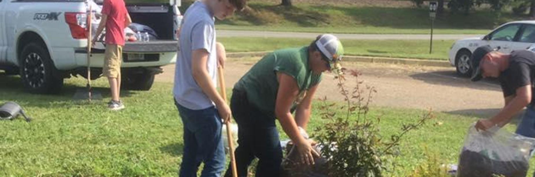 SHS FFA Gardening