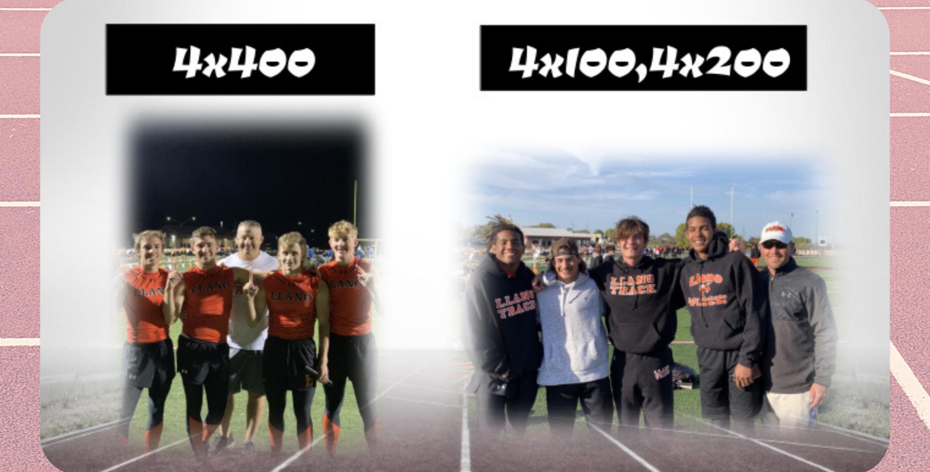 Boys Relay teams