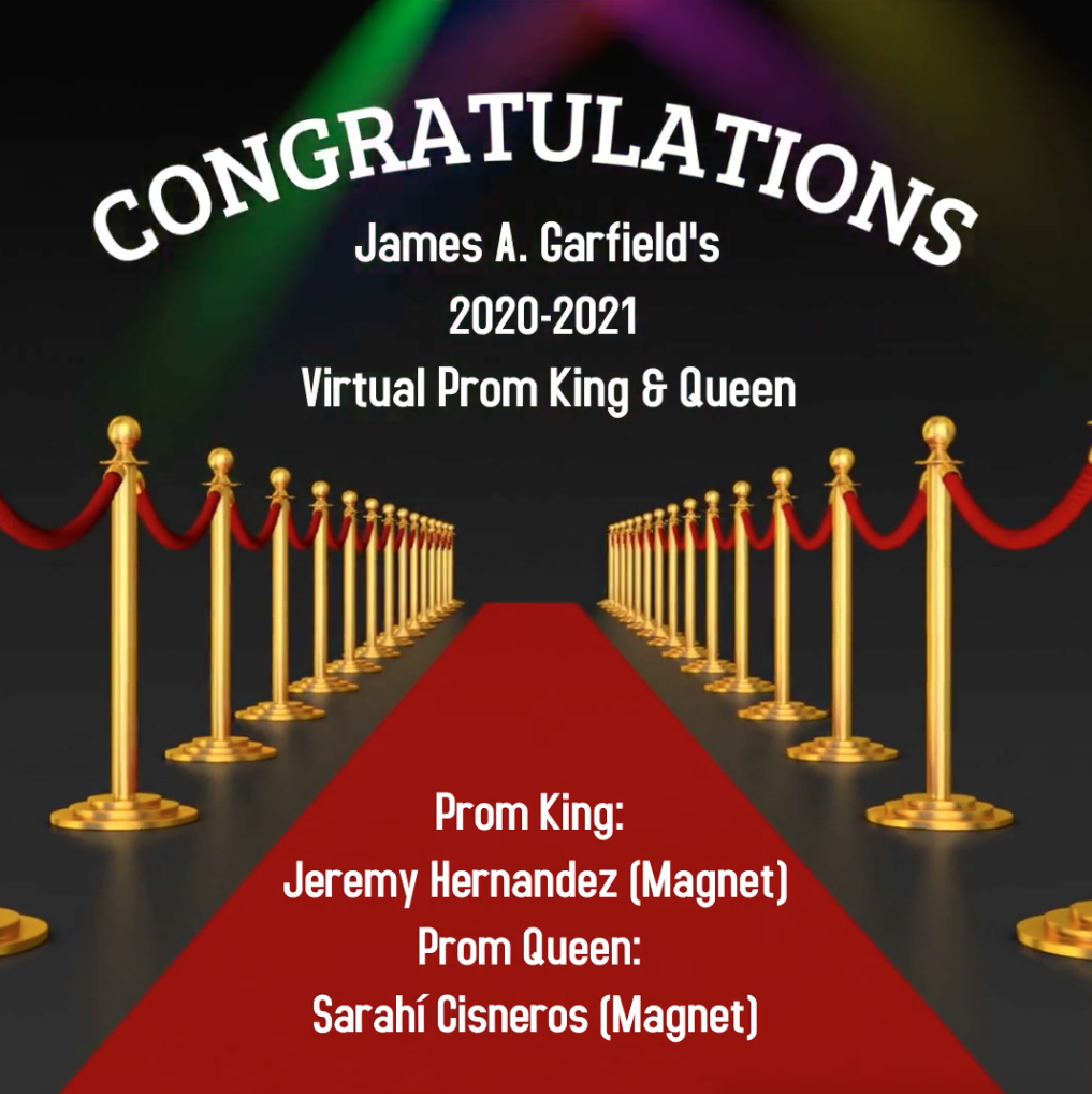 Virtual Prom King and Queen