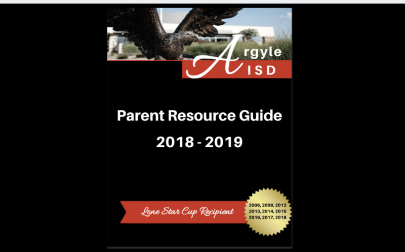 CHECK OUT THE NEW AISD PARENT RESOURCE GUIDE Thumbnail Image