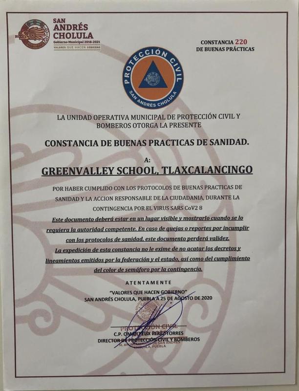 DISTINTIVO BUENAS PRÁCTICAS DE SANIDAD Thumbnail Image