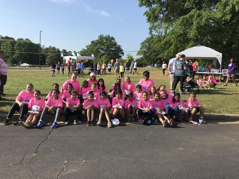 Girls on the Run group photo