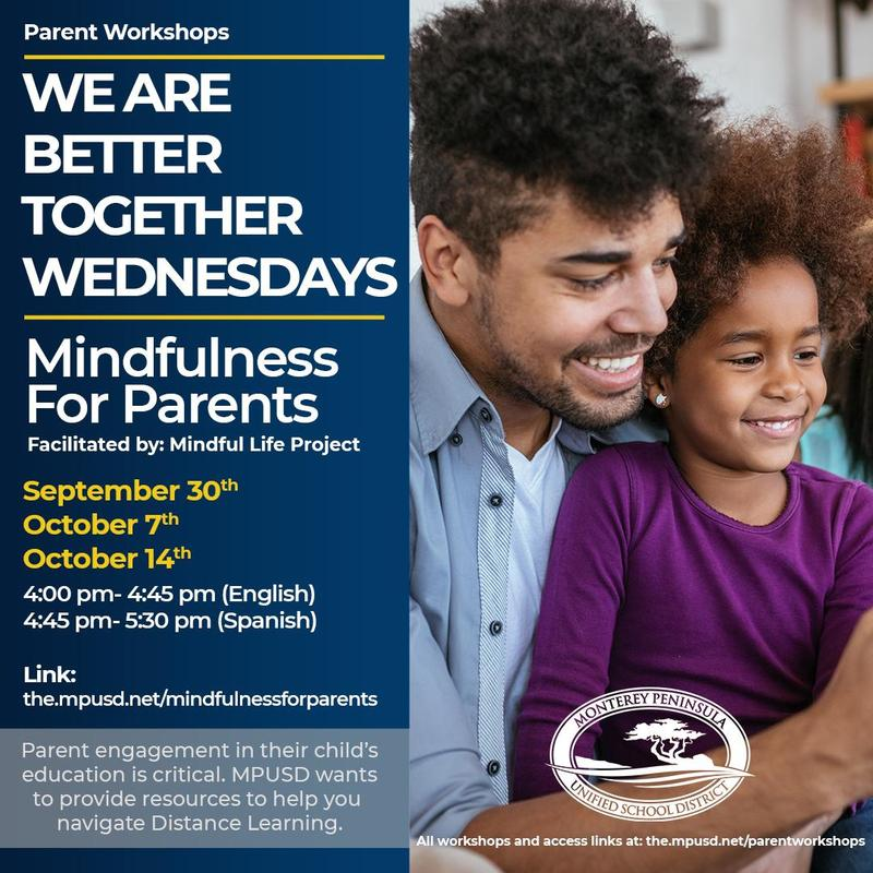 We're Better Together Wednesdays Parent Workshops Featured Photo