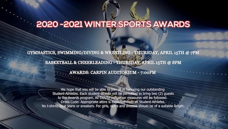 2020-2021 Winter Sports Awards Thumbnail Image