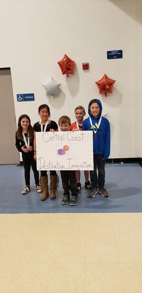Destination Imagination Winners!