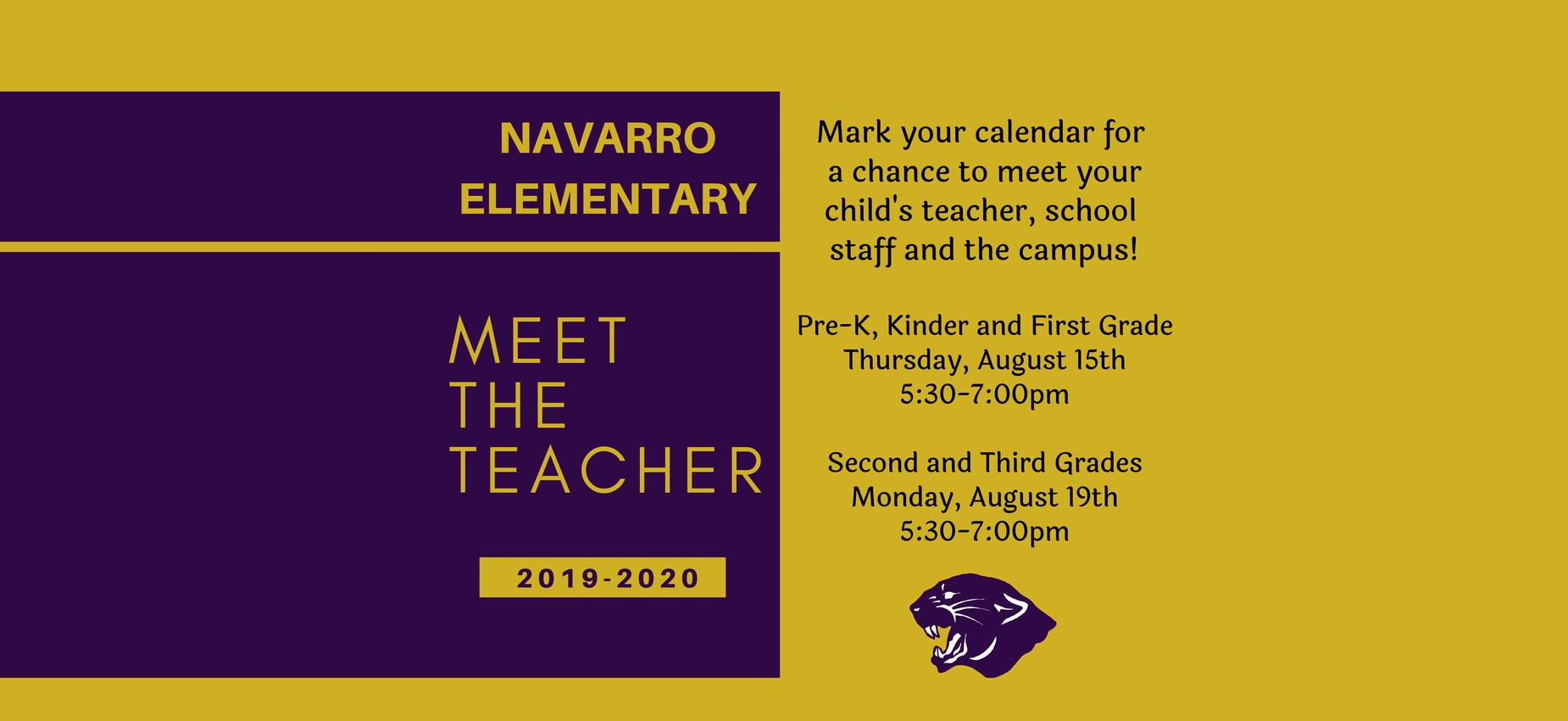 Lisd Calendar 2020.Navarro Elementary School