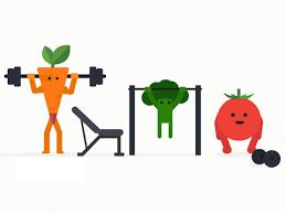 Veggies and Weights