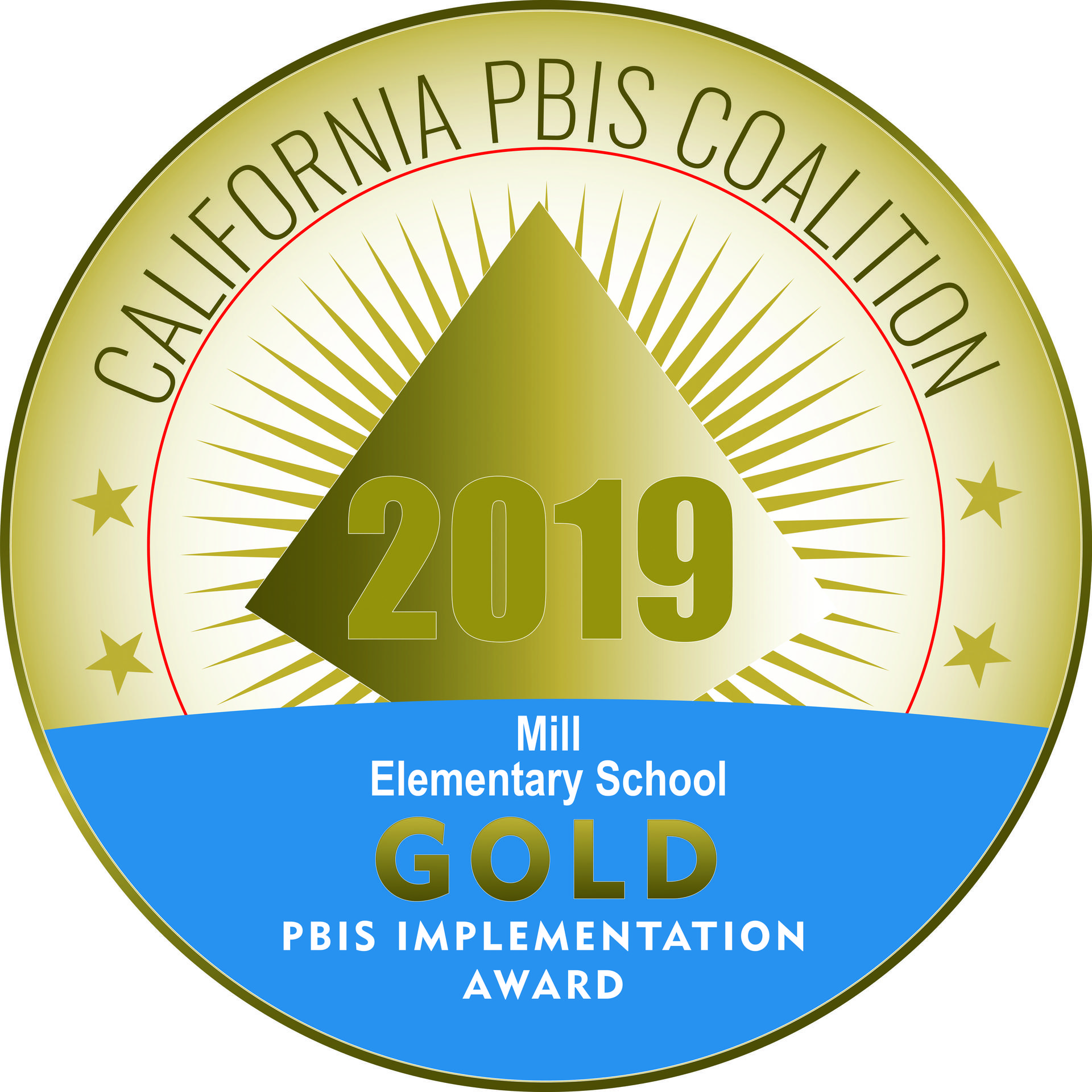 2019 PBIS Gold Award Logo