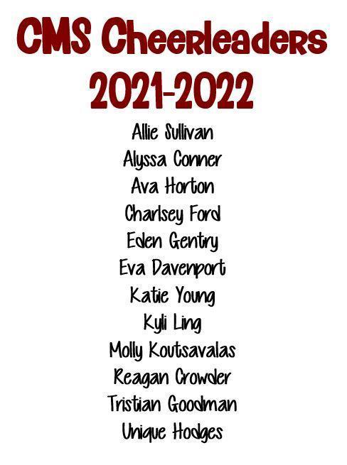 2021-22 CMS Cheer