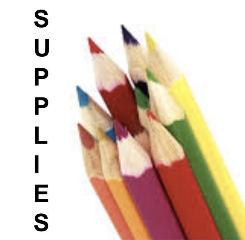 Supplies:  Pencils