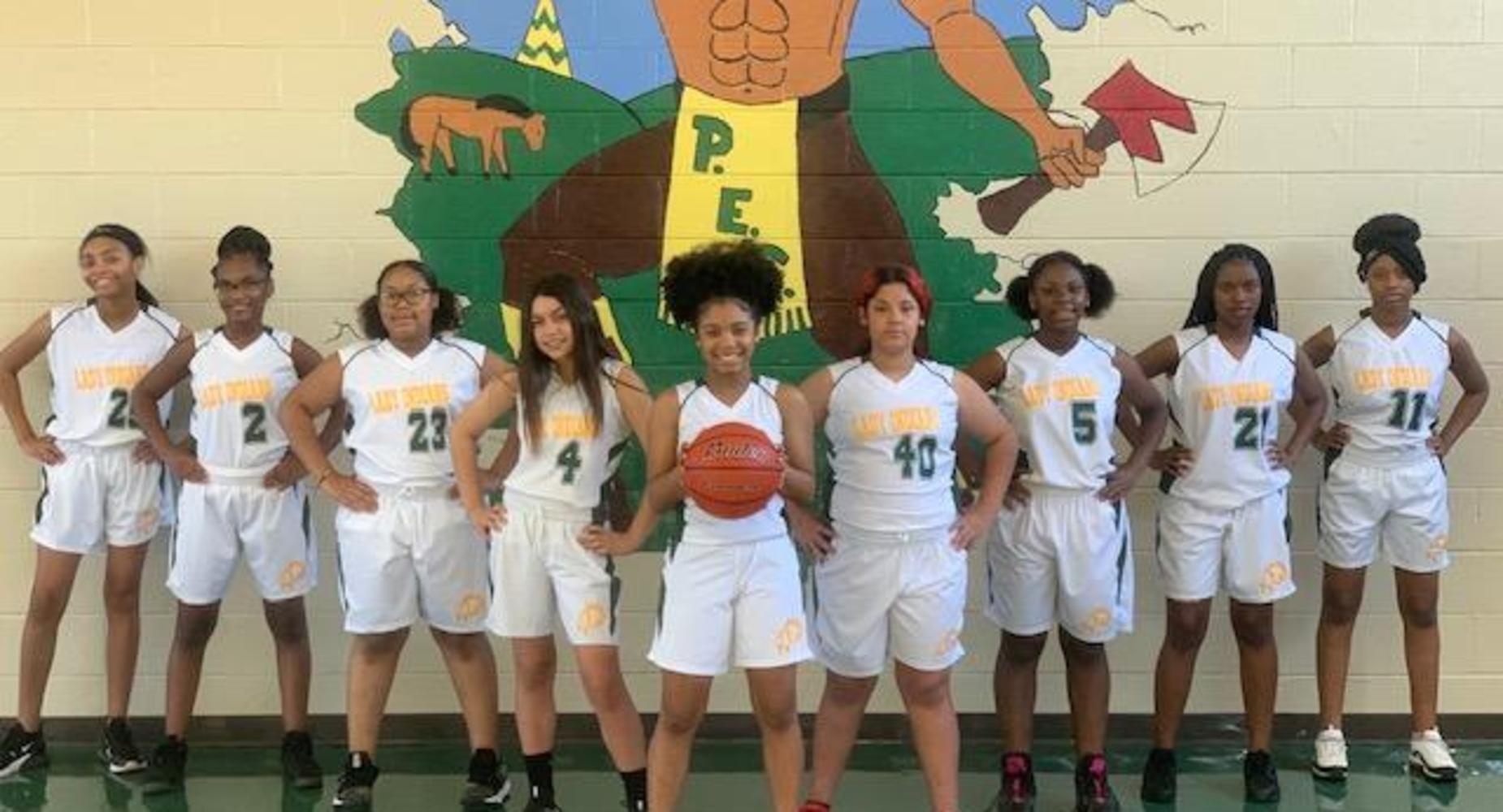 Plaisance School Girls Basketball Team