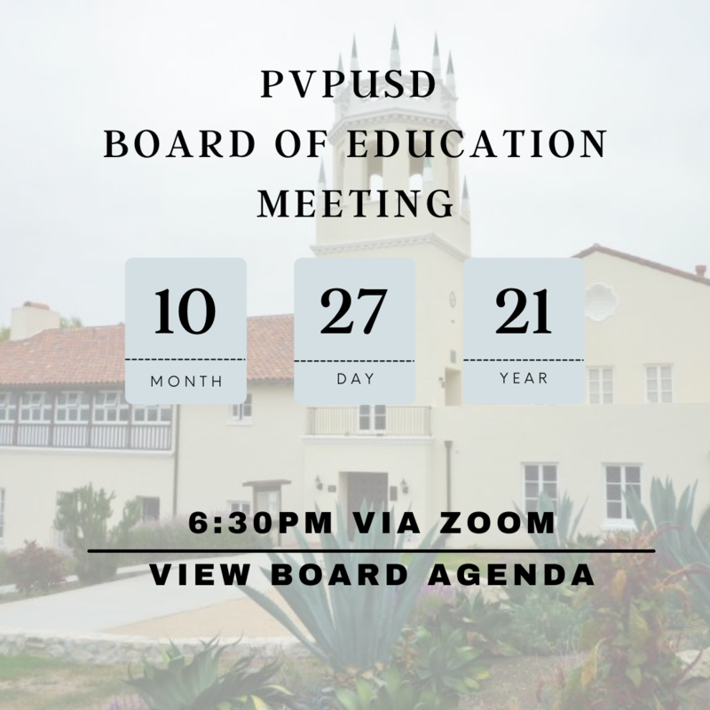 October 27th Regular Board Meeting Agenda Thumbnail Image