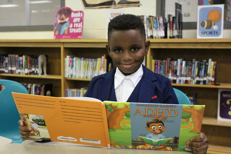 Lancaster ISD Child Author, Jamarion Rainey:  Rosa Parks Millbrook Elementary student publishes first book, plans second project Thumbnail Image