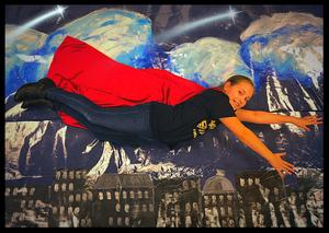 Pic of Sophia Greene in super hero outfit