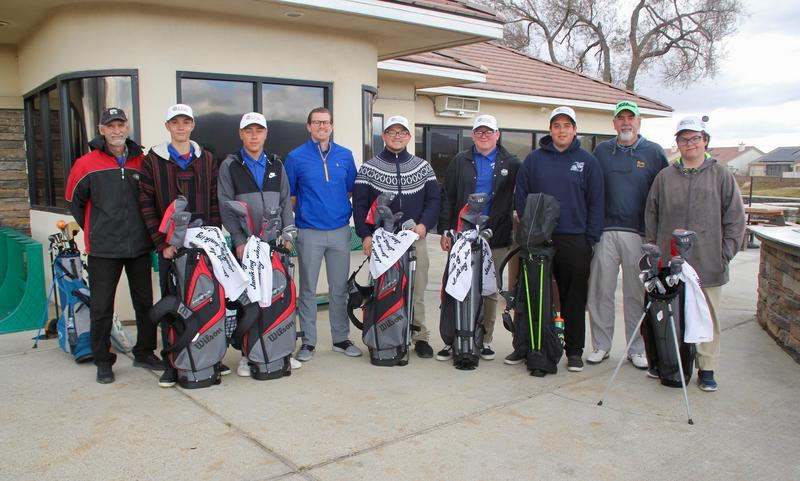PGA Foundation Donates Golf Clubs to LVHS Team Featured Photo