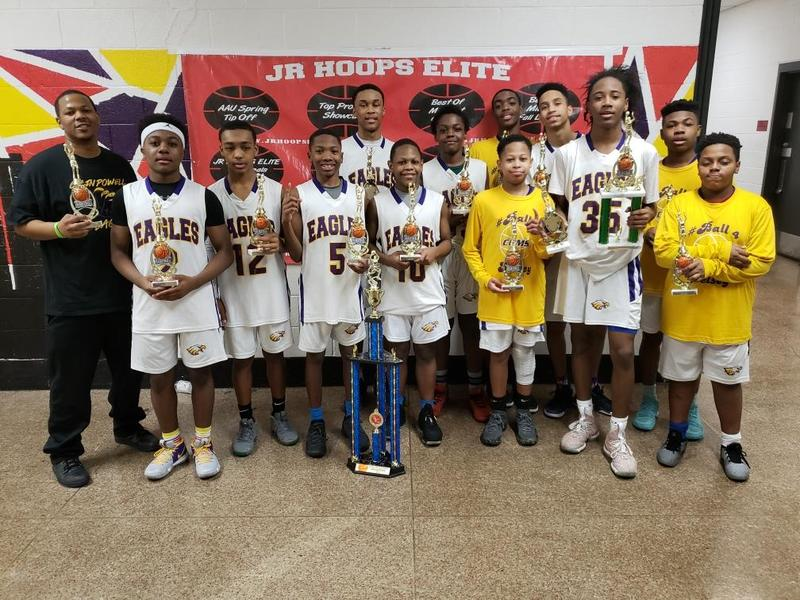 Congratulations 8th Grade Boys Basketball Team - Wins the Battle of the Titans Tournament Featured Photo