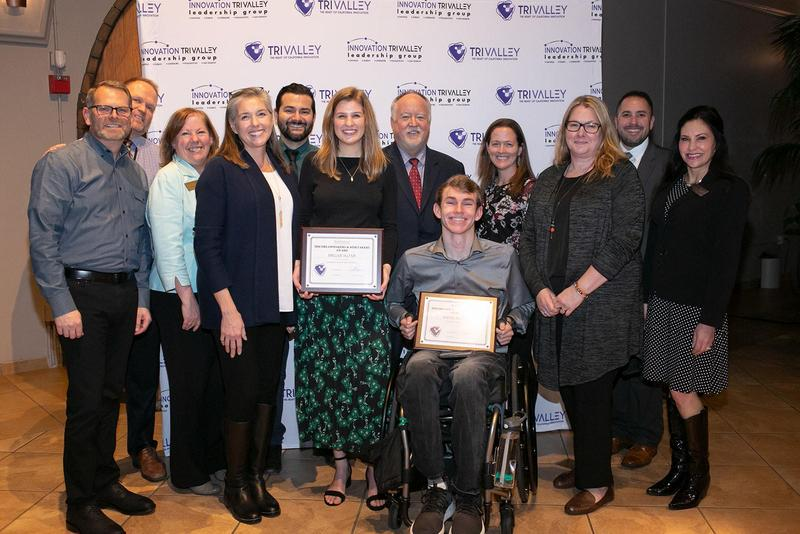 Myles Molnar Recognized at Tri-Valley 2020 Dreammakers and Risktakers Event Featured Photo
