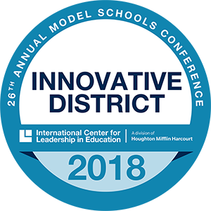 2018 Innovative District Badge