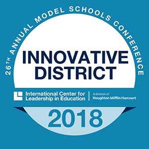 2018 Innovative District Badge