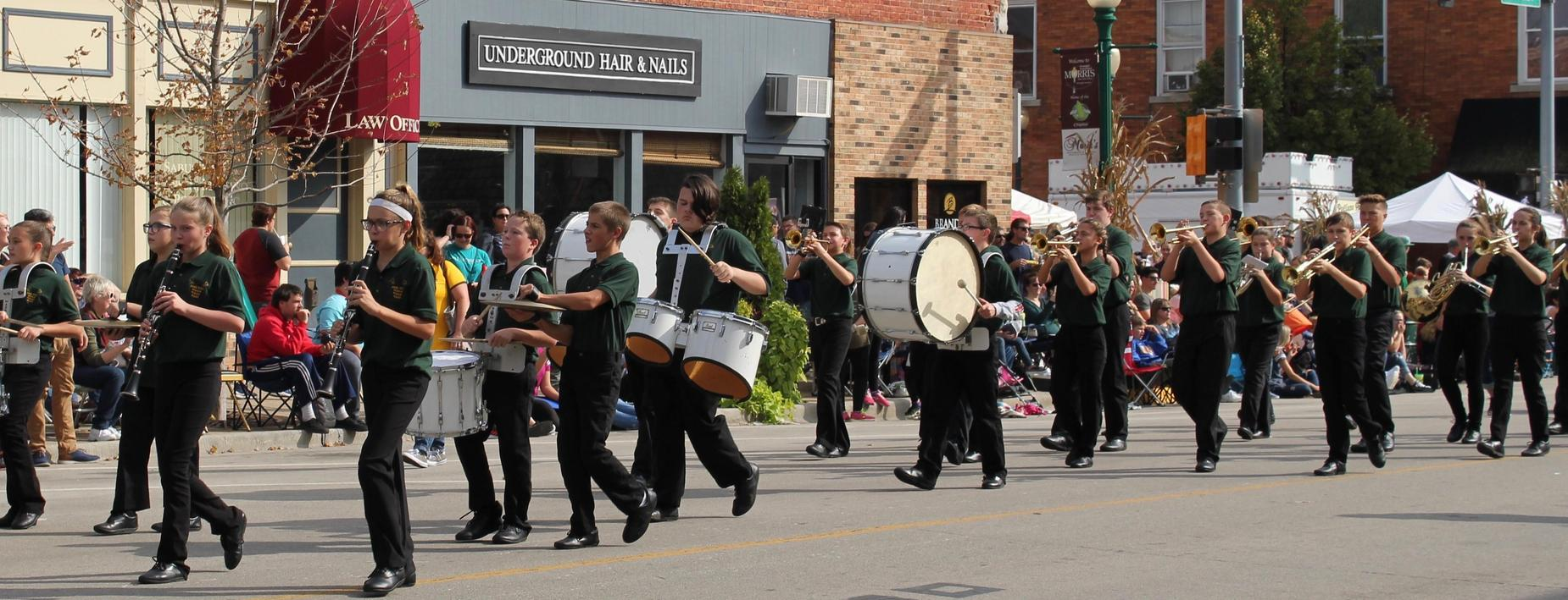 CCMS Band at Cornfest