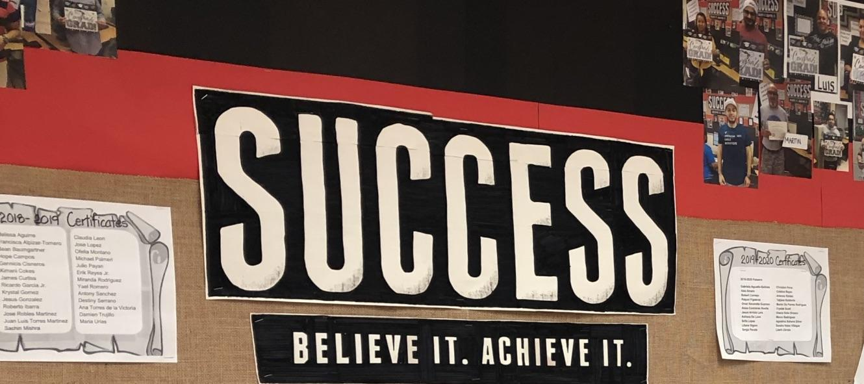 Success...believe it - achieve it!