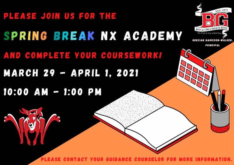 NX Academy Spring Recess 2021