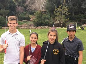 Foursome of Golfers