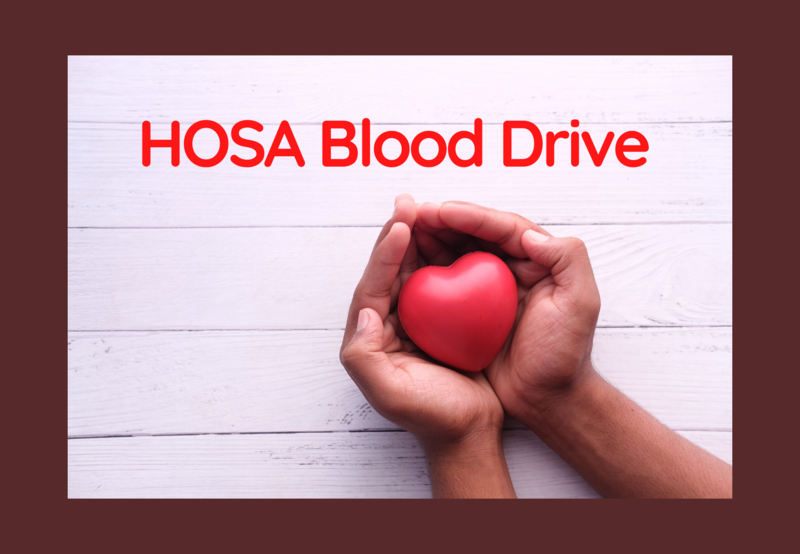 Sign-up for HOSA Blood Drive Thumbnail Image