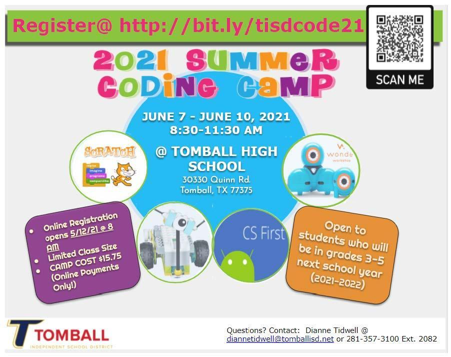 Summer 2021 Coding Camp