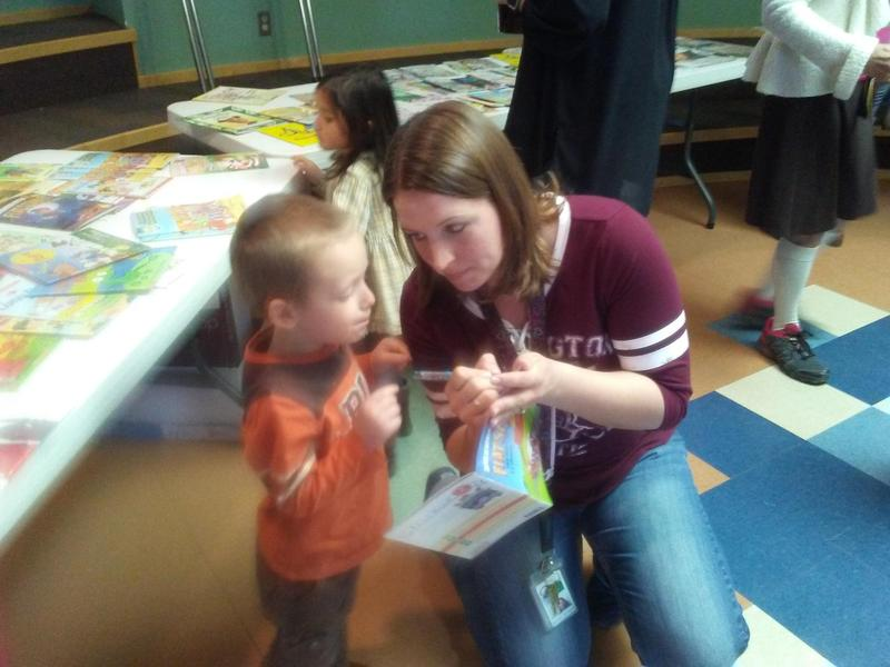 PTO sponsored Reading is Fun event