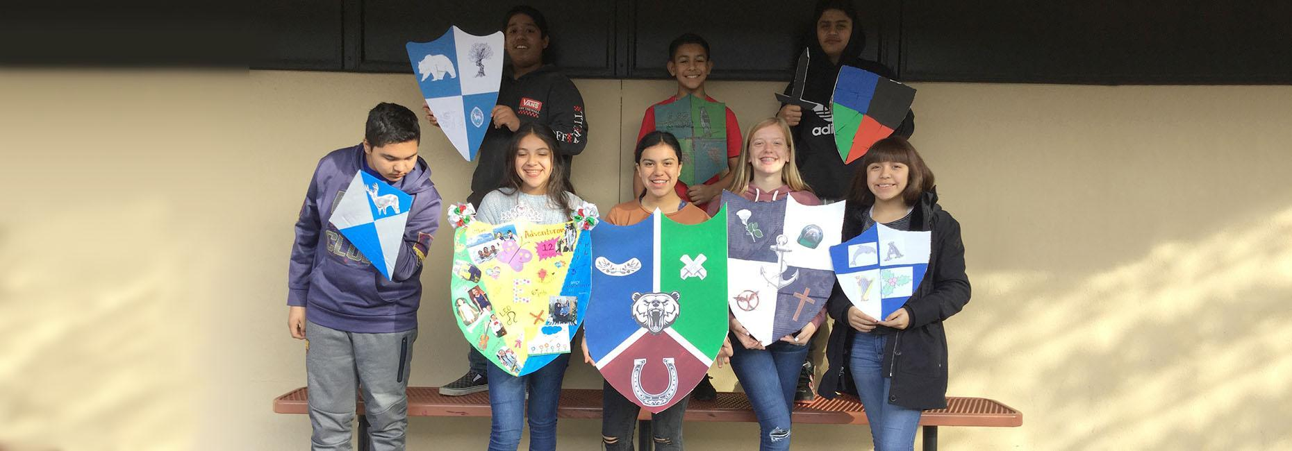 Seventh grade shields