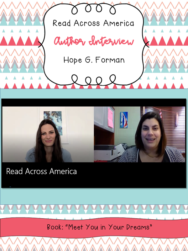 Read Across America Author Interview Thumbnail Image