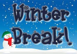 winter break graphic
